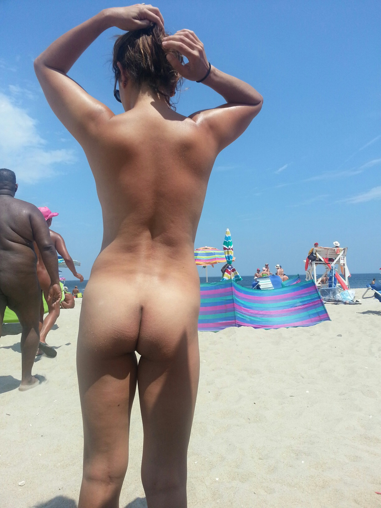 jerseyhottie at the beach